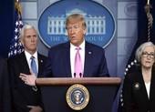 Một người nhiễm COVID-19 khi đến Mỹ, ông Trump vẫn lạc quan