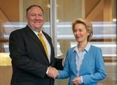 Ông Pompeo: Mỹ, EU nên cùng nhau đương đầu Trung Quốc