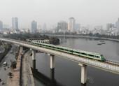 Ngắm đoàn tàu chạy trên đường sắt Cát Linh – Hà Đông