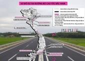 Tiếp tục xin chuyển 2 dự án cao tốc Bắc - Nam sang đầu tư công