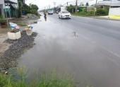Dân ớn lạnh vì nhiều điểm ngập nước trên quốc lộ 50