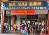 Ngành đường sắt tổ chức các đoàn tàu đưa người dân về quê
