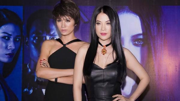 Trang Trần (trái) trong một cảnh phim - Ảnh Tư liệu TT
