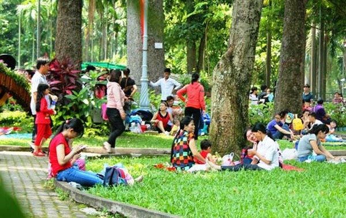 vui chơi, Đầm Sen, Thảo Cầm Viên, Sài Gòn, nắng nóng, quá tải, công viên nước