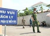 An ninh nghiêm ngặt tại khu cách ly KTX Đại học Quốc gia