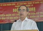 Cử tri đồng ý ông Nguyễn Thiện Nhân ứng cứ ĐB Quốc hội