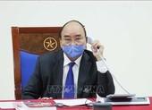 Thủ tướng điện đàm với thủ tướng Trung Quốc về dịch COVID-19
