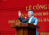 Nghệ sĩ Công Lý nhậm chức phó giám đốc Nhà hát Kịch Hà Nội