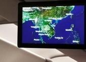 Bản đồ Việt Nam trên Vietnam Airlines thiếu quần đảo Hoàng Sa?