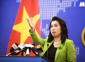 Việt Nam lên tiếng việc Trung Quốc bắn tên lửa ở Biển Đông