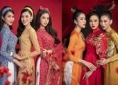 Tốp 3 Hoa hậu Việt Nam 2020 đẹp sắc sảo trong bộ ảnh Tết