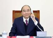 Thủ tướng Nguyễn Xuân Phúc điện đàm với Tổng thống Mỹ