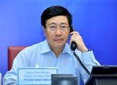Bộ trưởng ngoại giao Việt Nam và Cuba điện đàm