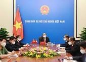 Chủ tịch nước điện đàm với Tổng Bí thư, Chủ tịch Tập Cận Bình