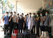 Đội phản ứng nhanh Bệnh viện Chợ Rẫy chi viện cho Kiên Giang