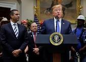 Ông Trump công bố sáng kiến 5G mới - cuộc đua 'Mỹ phải thắng'
