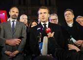 Ông Macron cam kết sẽ cho xây dựng lại Nhà thờ Đức Bà Paris
