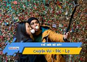 Video: Choáng với bức tường chứa cả tấn bã kẹo cao su