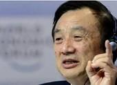 Người sáng lập Huawei: 'Mỹ đánh giá thấp Huawei'