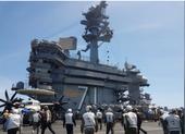 Hàng không mẫu hạm Mỹ diễn tập trên biển Đông
