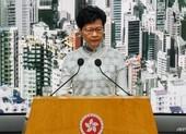 Lãnh đạo Hong Kong chính thức xin lỗi dân chúng