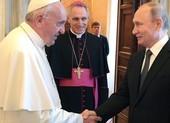 Ông Putin và Đức Giáo hoàng gặp nhau để bàn chuyện gì?