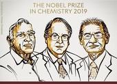 Nobel Hóa học 2019 trao cho 3 nhà nghiên cứu pin lithium-ion