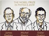 Nobel Vật lý về tay ba nhà khoa học nghiên cứu vũ trụ