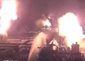 Video chưa từng công bố về vụ tấn công cơ sở dầu Saudi Arabia