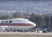 201 công dân Mỹ được sơ tán khỏi Trung Quốc về đến California