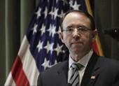 Lãnh đạo cấp cao Bộ Tư pháp Mỹ từ chức