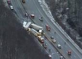 Tai nạn giao thông liên hoàn ở Mỹ, 66 người thương vong