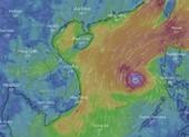 Cách theo dõi đường đi của cơn bão Phanfone