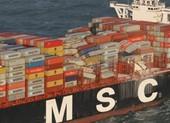 Tàu chở hàng gặp bão, 270 container mất tích trên biển