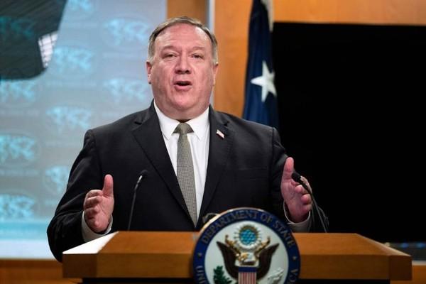 US Secretary of State Mike Pompeo slams China's 'Orwellian ...