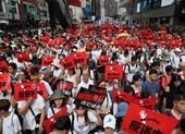Bốn sinh viên Hong Kong bị bắt theo luật an ninh quốc gia mới