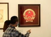 Triển lãm phác thảo mẫu quốc huy của họa sĩ Bùi Trang Chước