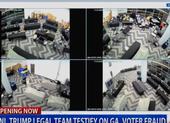 Đội ông Trump trưng video cáo buộc gian lận bầu cử tại Georgia