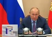 Ông Putin lệnh tiêm vaccine COVID-19 miễn phí cho dân Nga