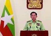 Thống tướng Myanmar lần đầu phát biểu toàn dân sau chính biến