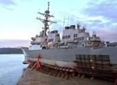 Tàu chiến Mỹ lần đầu qua eo biển Đài Loan dưới thời ông Biden