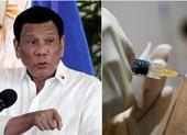 Ông Duterte nói sẽ không xin xỏ vaccine của nước khác