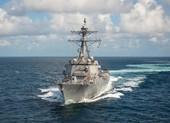 Hải quân Mỹ điều tàu khu trục qua eo biển Đài Loan lần thứ 3