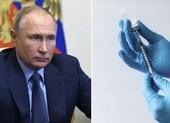 Ông Putin nói hôm nay sẽ tiêm vaccine COVID-19