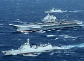 Biên đội tàu sân bay Bắc Kinh đi qua Eo biển Miyako của Nhật