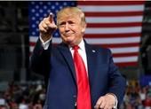 Ông Trump lần đầu phát biểu trước công chúng 'hậu' Nhà Trắng