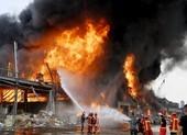 Lebanon: Cháy lớn tại hiện trường vụ nổ kinh hoàng tháng trước