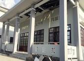 Sập mái hội trường ở Hậu Giang: Phòng ban xin rút kinh nghiệm