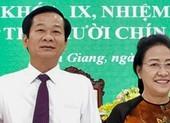 Nhân sự lãnh đạo mới ở Kiên Giang