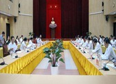Bộ Chính trị làm việc với Hậu Giang về chuẩn bị Đại hội